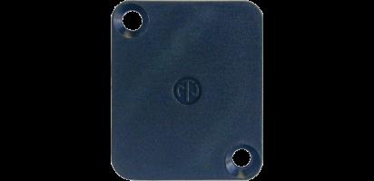 Neutrik Abdeckplatte, D-Serie, 2-fache Materialstärke