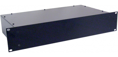 Metallgehäuse, 19'' 4 HE, geschl. Front, 30 cm tief