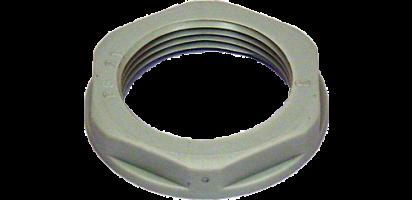 Gegenmutter PG 21, Kunststoff, grau