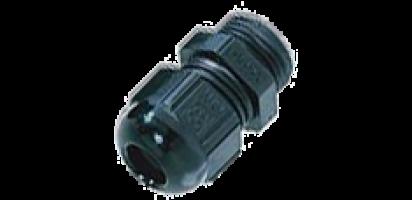 Kunststoff-Zugentlastung - PG21, ohne Spirale
