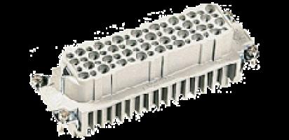 Buchsenkontaktträger, 64pol., HAN-D 24B