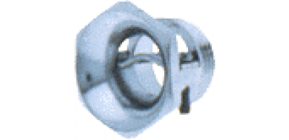 Zugentlastung-Metall,Trompetenverschr.,PG13,5