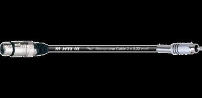 MTI Digital Audio-Adapter, XLR-fem. 3p./Cinch, 0,2 m