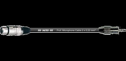 MTI Digital Audio-Adapter, XLR-fem./Mini-Kl. 3p., br., 0,2 m