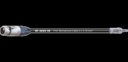 MTI Digital Audio-Adapter, Neutrik XLR-fem./Mini-Kl. 3p., br., 0,2 m