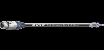 MTI Digital Audio-Adapter, Neutrik XLR-fem. 3p./Mini-Kl. 3p., 0,2 m