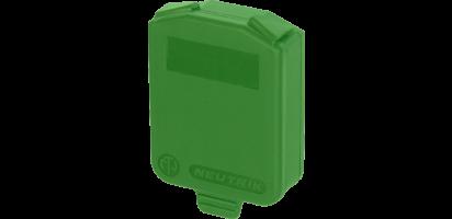 Neutrik Dichtklappe für D-Serie, grün