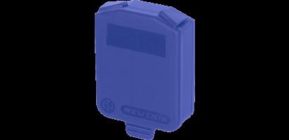 Neutrik Dichtklappe für D-Serie, blau