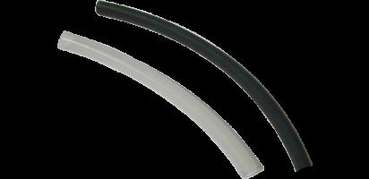 Schrumpfschlauch 9,5 auf 3,0 mm, transp. selbstklebend