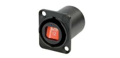 Neutrik opticalCON 12-Kanal LWL System Einbaubuchse, wasserdicht IP65