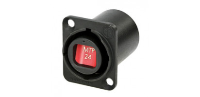 Neutrik opticalCON 24-Kanal LWL System Einbaubuchse, wasserdicht IP65