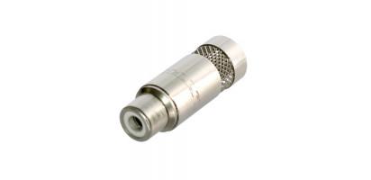 REAN Cinchbuchse, Metall-Serie, bis 7,2 mm