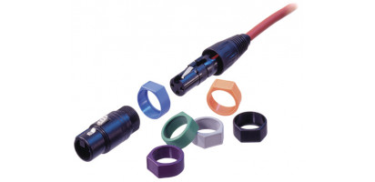 Neutrik XLR-Stecker-Codierring, X-Serie, grau