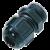 Kunststoff-Zugentlastung - PG36, ohne Spirale